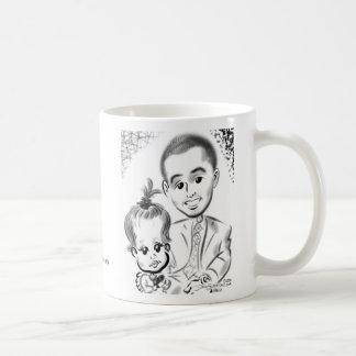 Douglaston Christening Caricatures 2014b Coffee Mug