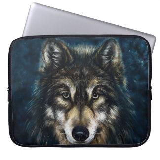 Douille artistique d'ordinateur portable de visage trousses pour ordinateur portable