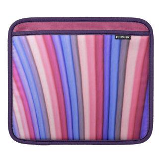 Douille d iPad d art d arc-en-ciel Poches Pour iPad