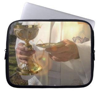 Douille d ordinateur portable de communion trousse ordinateur