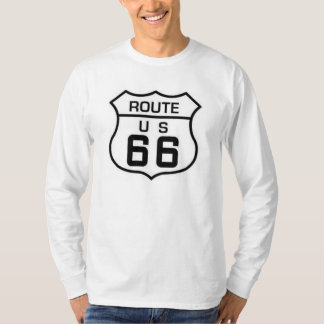 Douille de base de l'itinéraire 66 longue tee-shirt