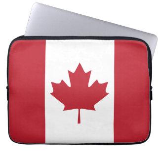 Douille d'ordinateur portable de drapeau du Canada Trousses Ordinateur