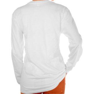 Douille personnalisée d'équipe de danse longue t-shirts