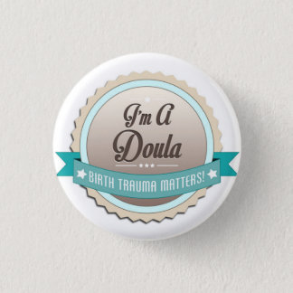 Doula 1 Inch Round Button