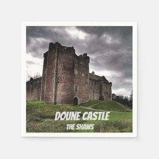Doune Castle – The Shaws Disposable Napkins