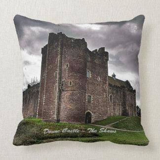 Doune Castle – The Shaws Throw Pillow