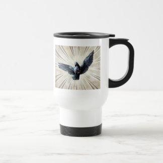 dove 15 oz stainless steel travel mug