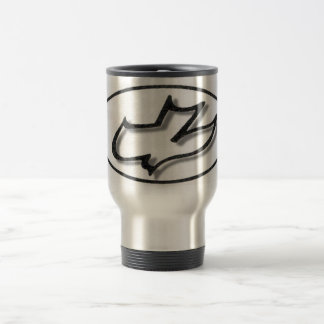 Dove 15 Oz Stainless Steel Travel Mug