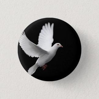 Dove 1 Inch Round Button