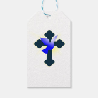 Dove and Cross Gift Tags
