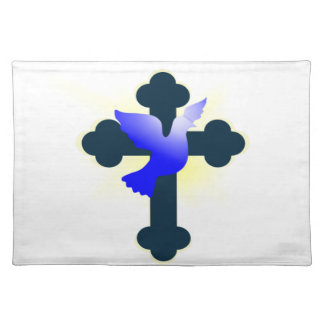 Dove and Cross Placemat