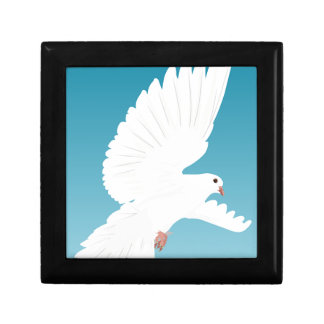 Dove Bird Birds Feather Nature Animal Wing Gift Box