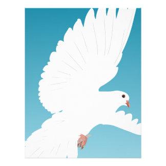 Dove Bird Birds Feather Nature Animal Wing Letterhead