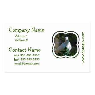Dove Double-Sided Standard Business Cards (Pack Of 100)