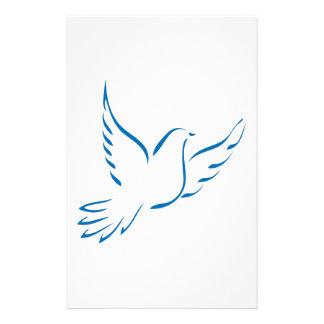 Dove Customized Stationery