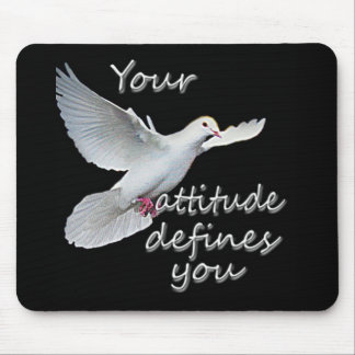 Dove designed mousepad