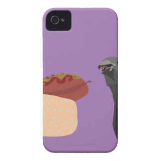dove eating iPhone 4 Case-Mate case
