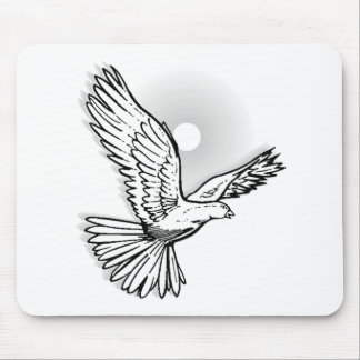 Dove Flying Mouse Pads
