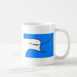 Dove Graphic Classic White Coffee Mug