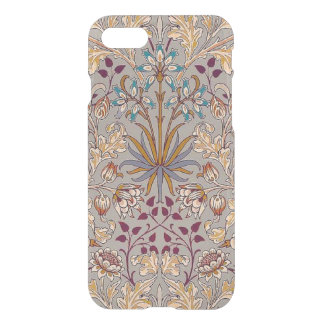 Dove Gray Hyacinth iPhone 7 Clear Case