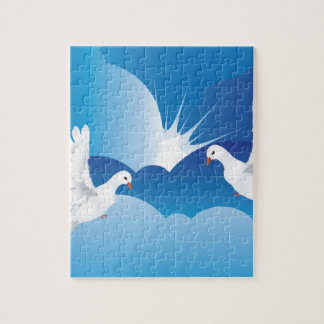 Dove in the Sky 7 Jigsaw Puzzle