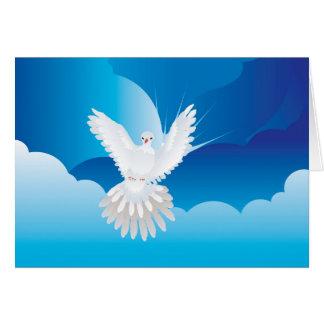Dove in the Sky Card