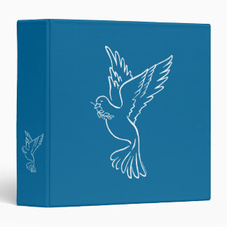 Dove of Peace 3 Ring Binder