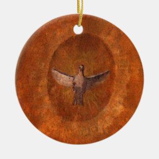 Dove of Peace Ceramic Ornament