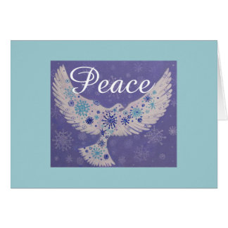 Dove of Peace, Christmas card
