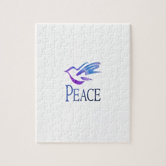Dove Of Peace Jigsaw Puzzle