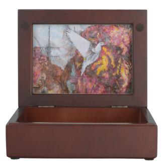 Dove of Peace Keepsake Box