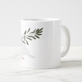 Dove of Peace Large Coffee Mug