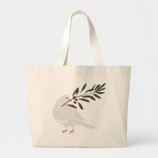 Dove of Peace Large Tote Bag