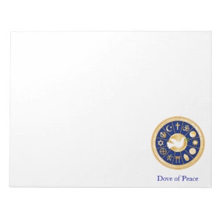 Dove of Peace Notepad