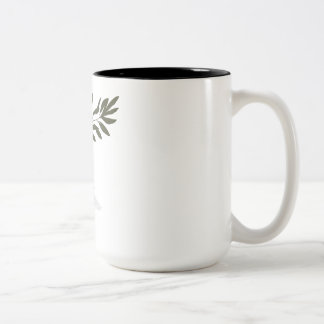 Dove of Peace Two-Tone Coffee Mug