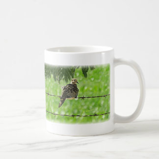 Dove on a Wire Mugs