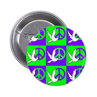 dove peace pins