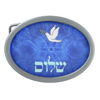 Dove - Shalom Belt Buckles