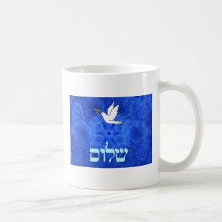 Dove - Shalom Classic White Coffee Mug