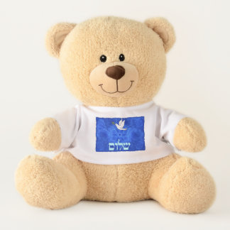 Dove - Shalom Teddy Bear