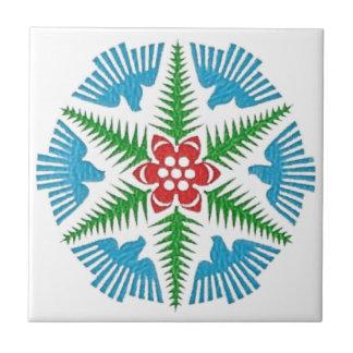 Dove Snowflake Tile