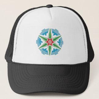 Dove Snowflake Trucker Hat