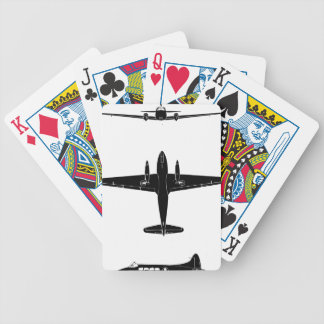 Dove_Srs_5_Silh Bicycle Playing Cards