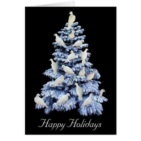 Dove Tree Greeting Card