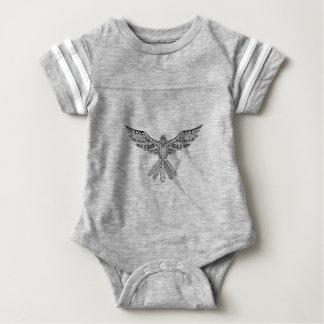 Dove Tribal Tattoo Baby Bodysuit