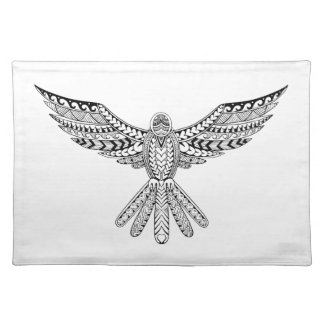 Dove Tribal Tattoo Placemat