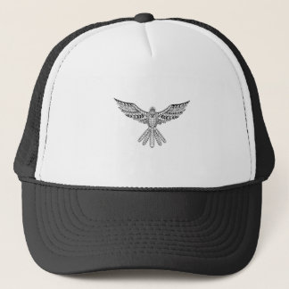 Dove Tribal Tattoo Trucker Hat