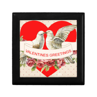Dove valentine gift box
