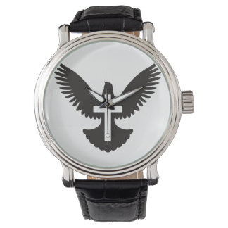Dove with Cross Wristwatch