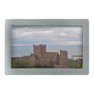 Dover Castle Rectangular Belt Buckle